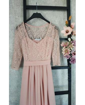 Бирюзовое платье для подружки невесты