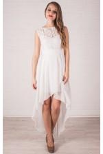 Коктейльное платье айвори