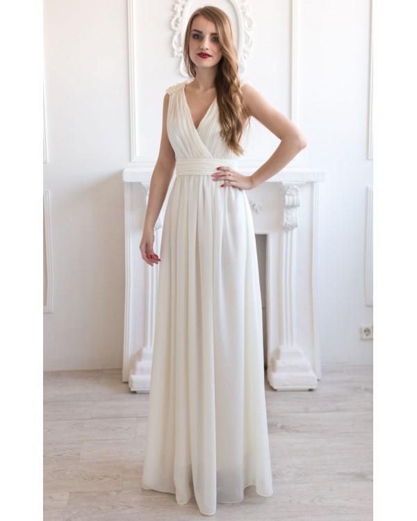 3470e2f35c9 Платье на роспись с лифом на запах купить в интернет-магазине Роял ...