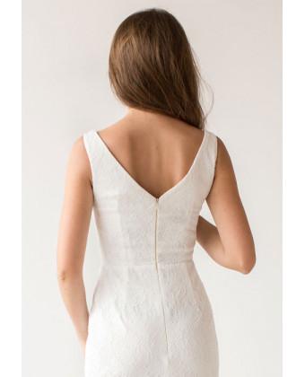 Платье на роспись русалка