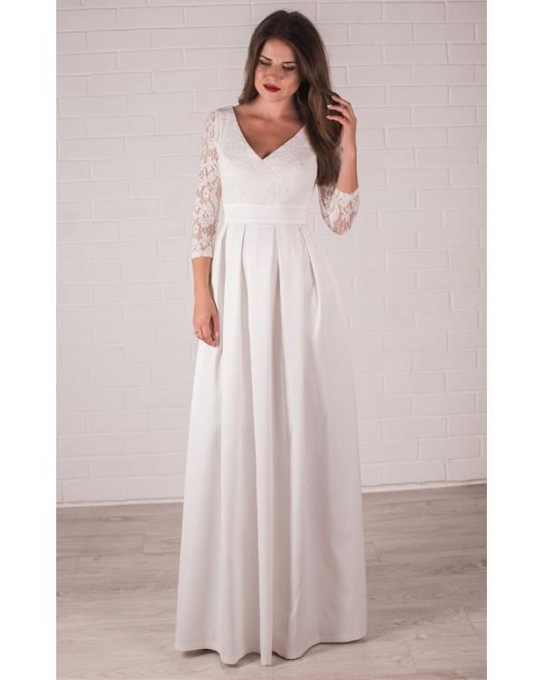 df472685f67 Платье свадебное с кружевом купить в интернет-магазине Роял-бутик ...