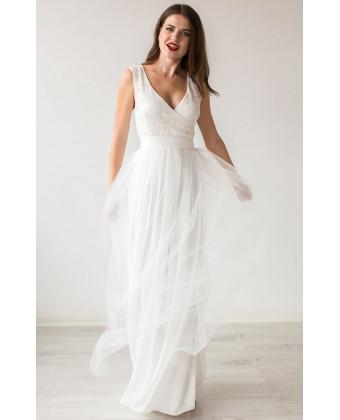 Вечернее платье на роспись