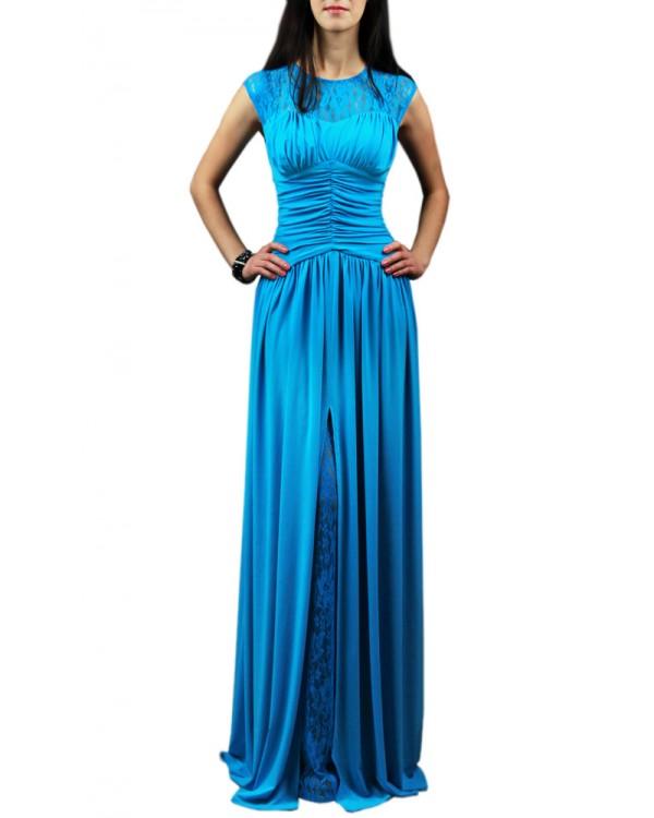 Голубое Вечернее Платье Купить