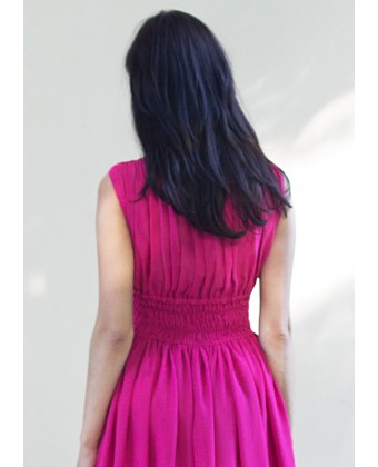 Платье в пол с камнями по талии