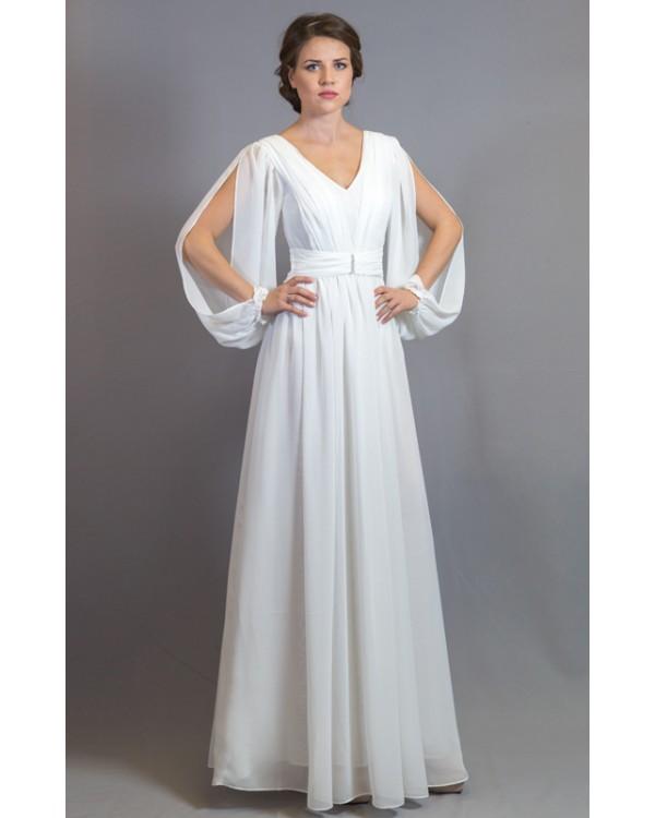Вечерние платья белое украина