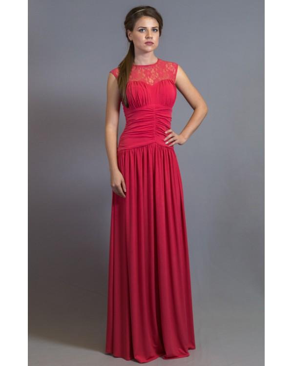Платье с разрезом от бедра купить в