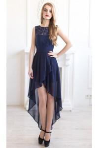Выпускное платье спереди короткое