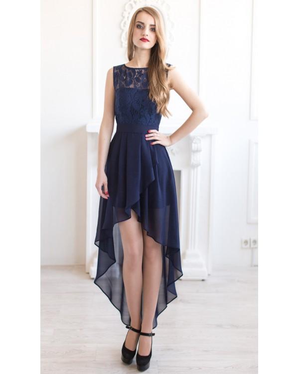 0d16a82dc9dc75 Выпускное платье спереди короткое купить в интернет-магазине Роял ...