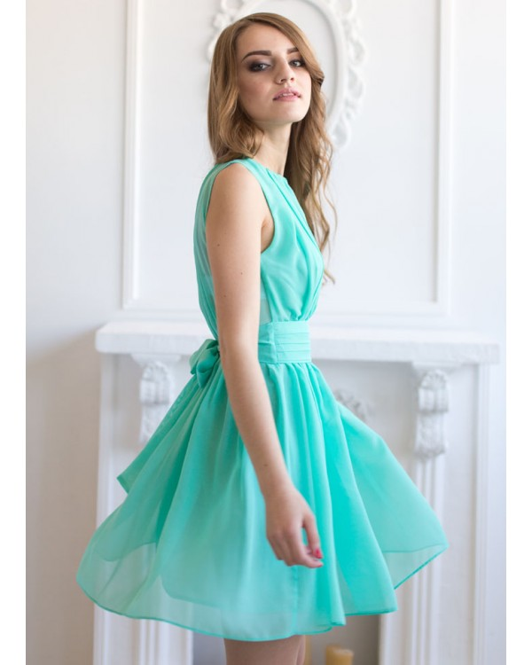 Свадебное Мятное Платье Купить