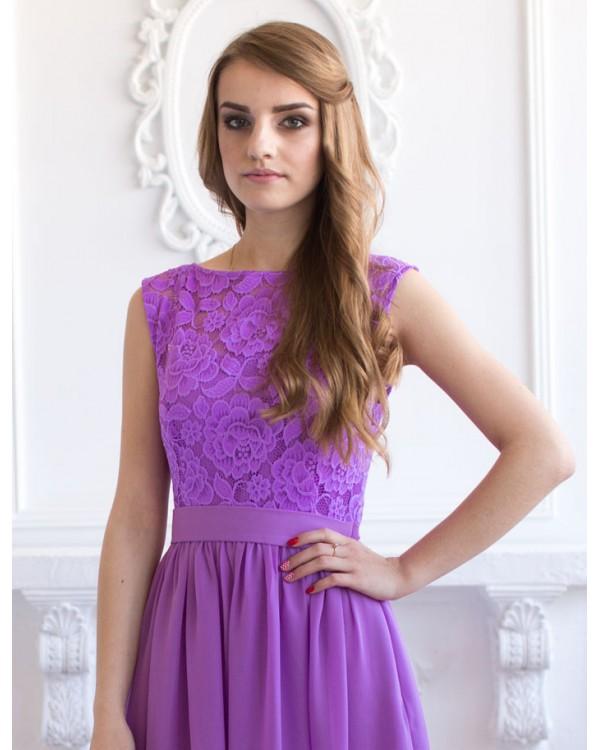 Сиреневое Платье Купить В Москве