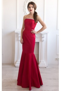 Платье годе на выпускной