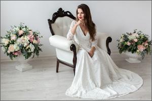Свадебные платья на роспись 2017