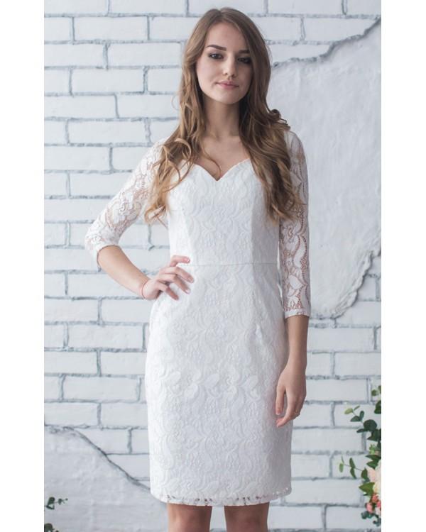 6a8c5ea13c9 Коктейльное платье с рукавом купить в интернет-магазине Роял-бутик ...