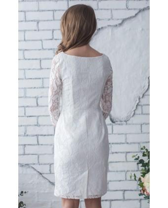 Коктейльное платье с рукавом