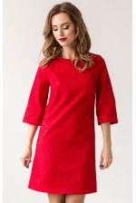 Коктейльное платье красное