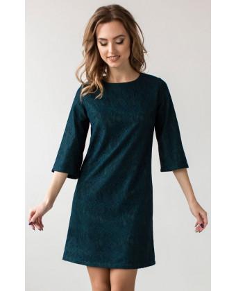 Коктейльное платье осень