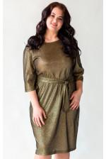 Блестящее платье на большую грудь