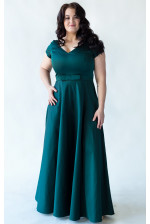 Шикарное вечернее платье для большой груди