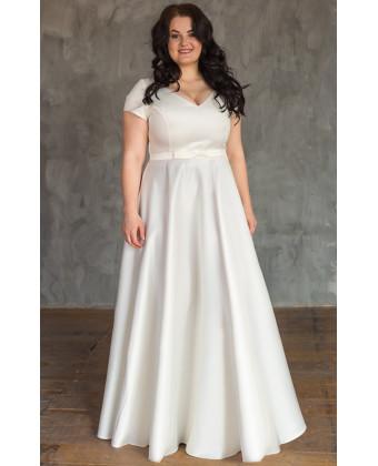 Свадебное платье на большую грудь