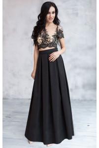 76142a6a254 Купить. Длинная юбка в складку черная