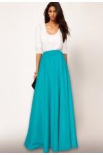 Макси-юбка с карманами
