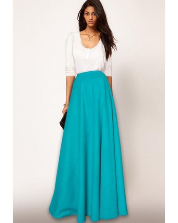 7ffa00b358e Макси-юбка с карманами купить в интернет-магазине Роял-бутик - Юбки ...