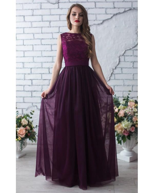 01869e031f8 Выпускное платье цвета марсала купить в интернет-магазине Роял-бутик ...
