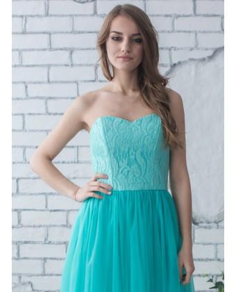 Выпускное платье с корсетом