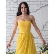 Желтое платье на выпускной