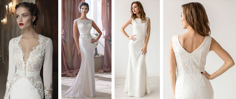 Белое платье для росписи без свадьбі фото