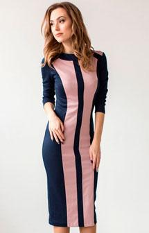 Модное деловое платье 2017