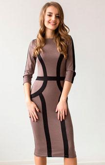 Деловое платье 2017 года