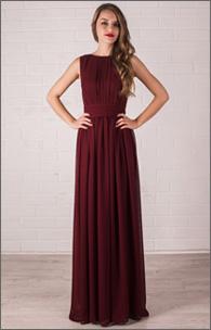 Купить вечернее шифоновое платье в греческом стиле оптом от производителя