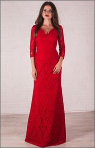 Купить вечернее гипюровое платье русалка оптом от производителя