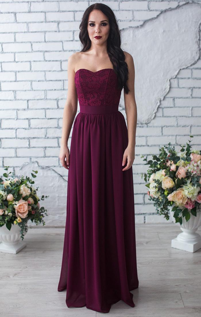 Марсал вечерние платья