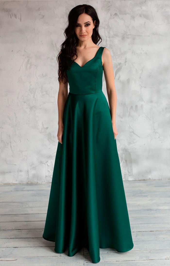 Изумрудное Платье Доставка