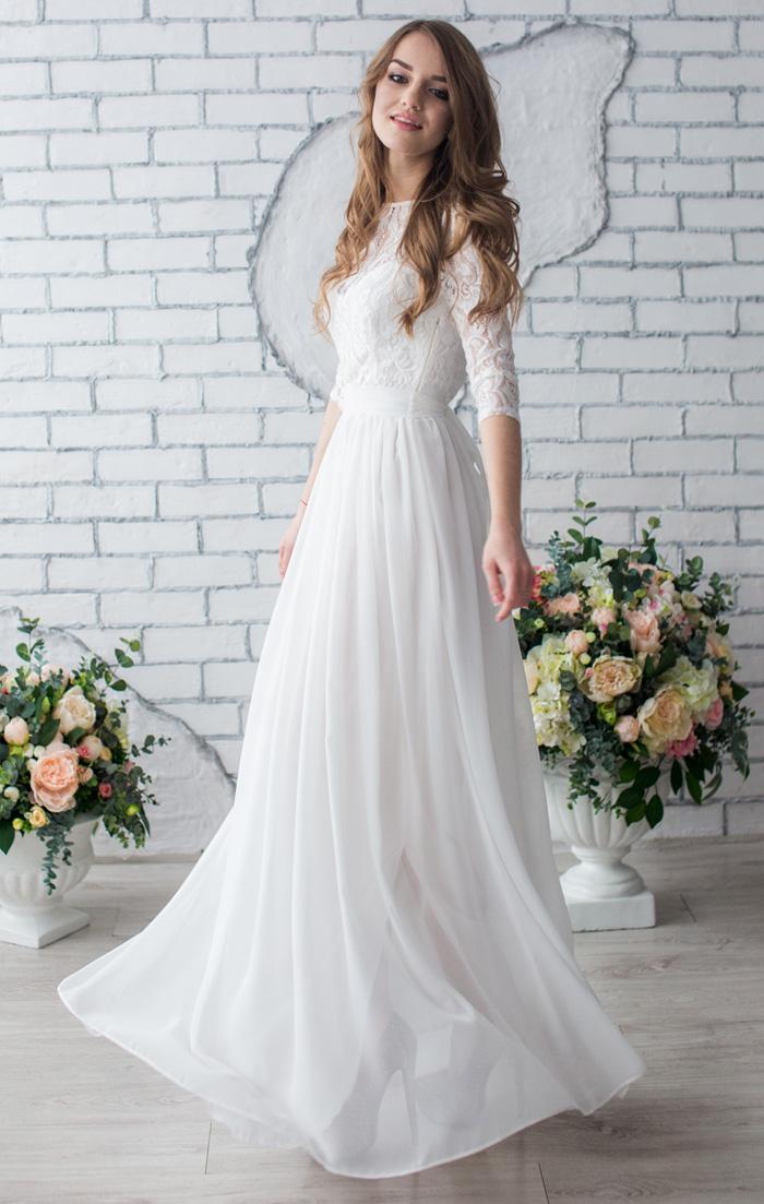 3ae309b51c68a4b Платье для росписи купить в интернет-магазине Роял-бутик - Платья на роспись  с доставкой по Украине