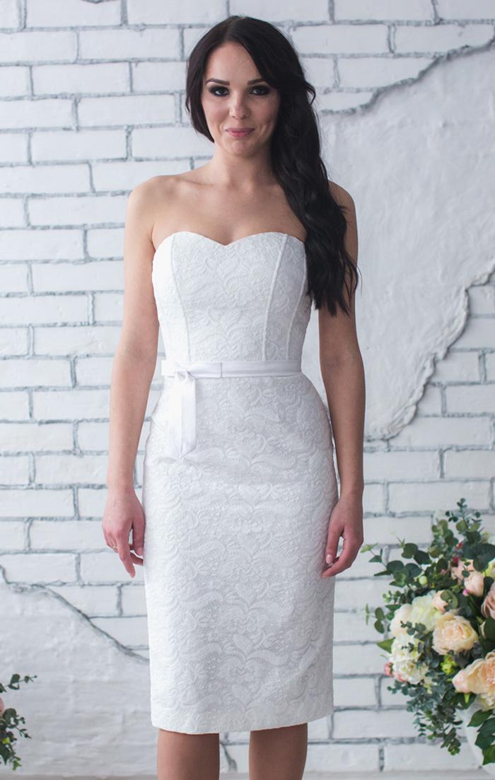 85423a7fe7d Белое платье футляр купить в интернет-магазине Роял-бутик - Коктейльные  платья с доставкой по Украине