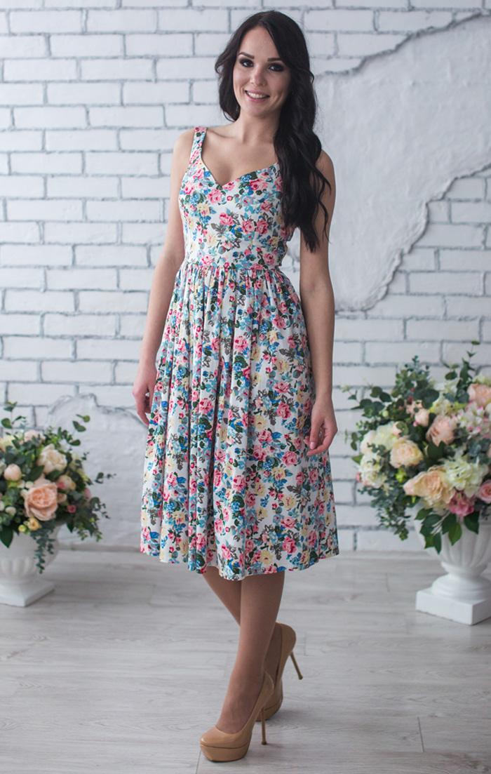 купить летнее платье макси