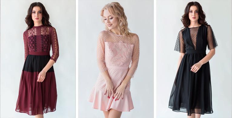 Фото новой коллекции коктейльных платьев 2019 Роял-бутик Украина