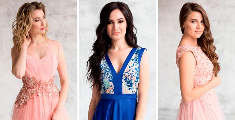 Фото новой коллекции вечерних платьев 2018